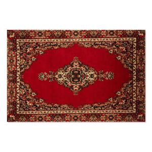 AF Floor Rug Red