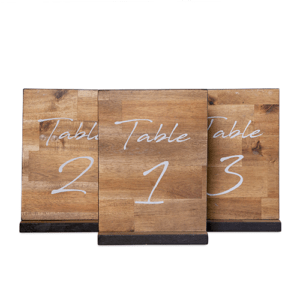 AF Table Numbers Timber