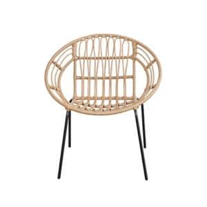 chair rattan round