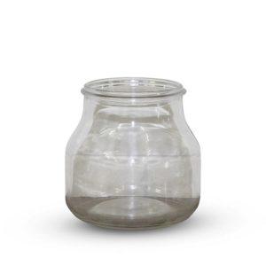 large glass vase