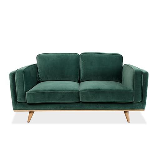 sofa green velvet