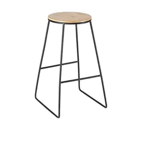 stool black frame