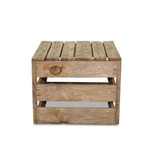 timber box coffee table for hire gold coast