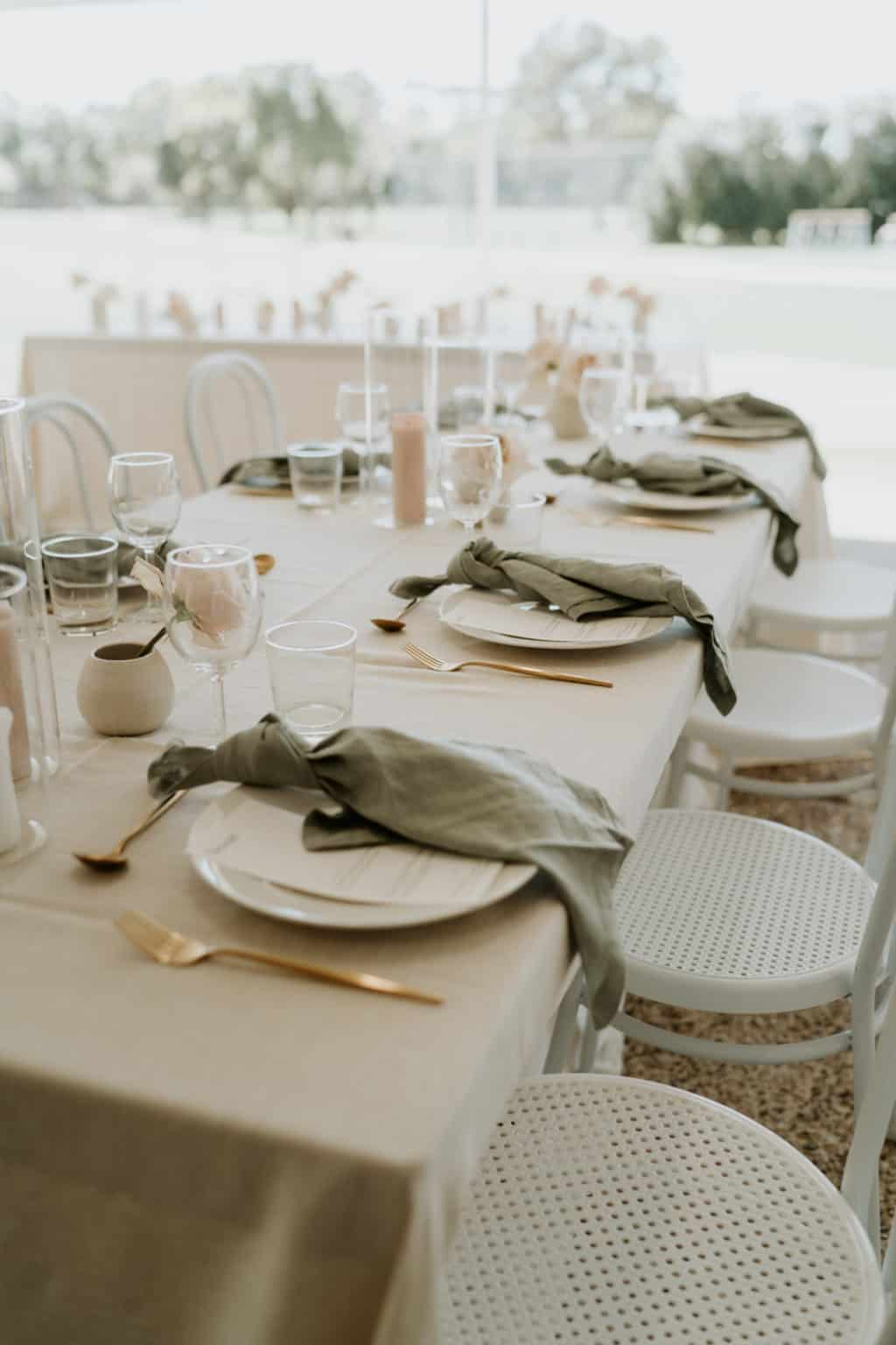 Meadow Park Golf Course Wedding Arctic Fox Styling Doe and Deer 25