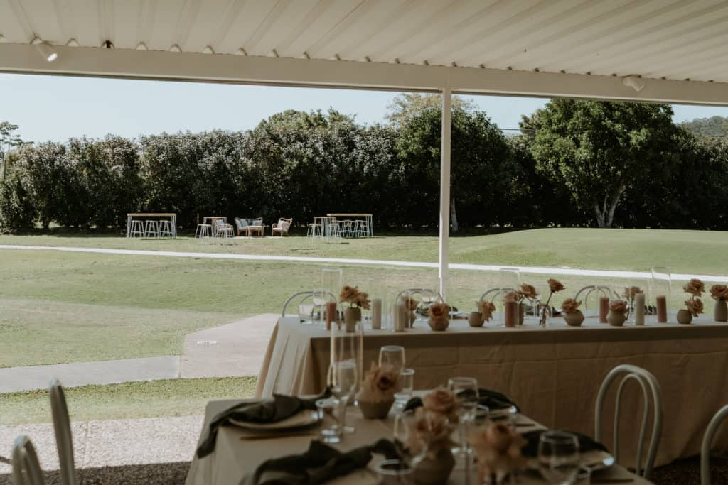 Meadow Park Golf Course Wedding Arctic Fox Styling Doe and Deer 33