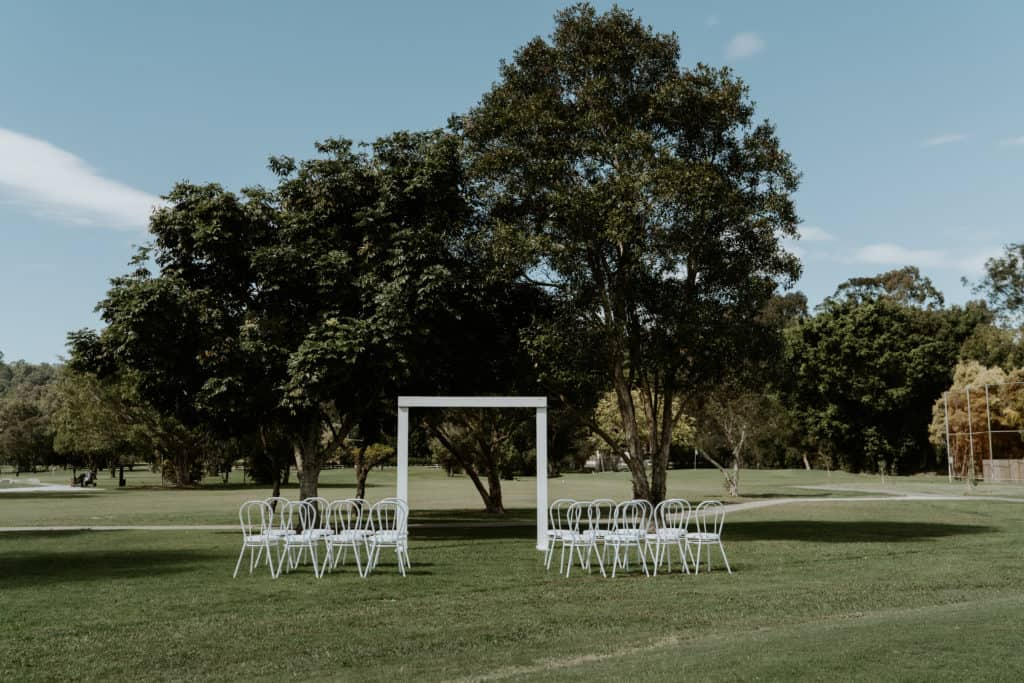 Meadow Park Golf Course Wedding Arctic Fox Styling Doe and Deer 66